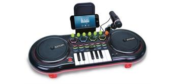 Bontempi DJ Mixer mit Mikrophon