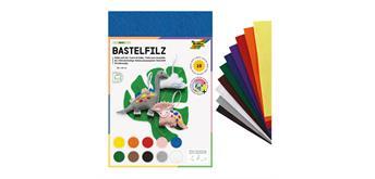 Bringmann - Bastelfilz 20 x 30 cm , 10 Bogen
