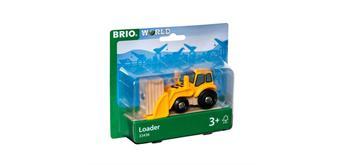 BRIO 33436 Frontlader mit Magnetladung