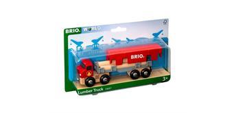 Brio 33657 Brio World Transporter rot aus Holz