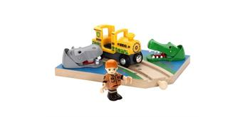 BRIO 33721 Safari Wasserstelle
