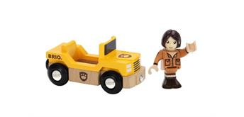 BRIO 33723 Safari Jeep mit Figur