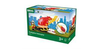 BRIO 33797 Feuerwehr Hubschrauber
