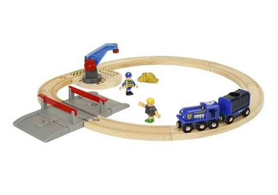 BRIO 33812 Polizei Goldtransport-Set