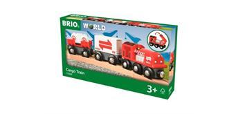 BRIO 33888 Güterzug mit Frachtladung