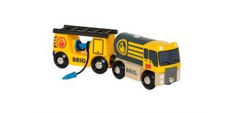BRIO 33907 Tankwagen mit Anhänger