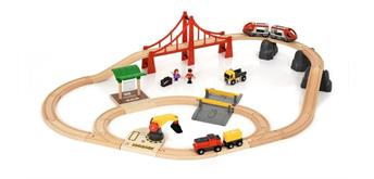 BRIO 33924 Grosses City und Frachten Set