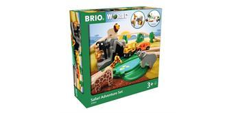 Brio 33960 Grosses Bahn Safari Set