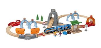 Brio Smart Tech 33972 - Sound Tunnel Zug-Set Action