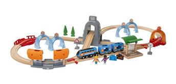 Brio Smart Tech 33972 - Sound Tunnel Zug-Set Action
