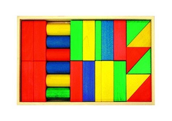 Bruderhaus Diakonie Holzkasten farbig 30 teilig