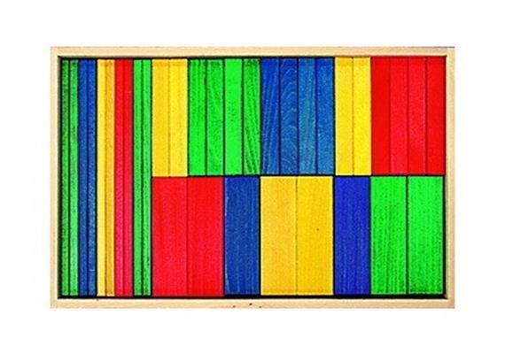 Bruderhaus Diakonie Holzkasten farbig 34 teilig