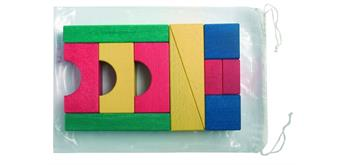 Bruderhaus Diakonie Polybeutel farbig 11 teilig
