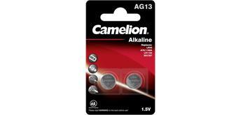 Camelion Batterien Knopfzelle LR 44 Alkaline 2er Blister
