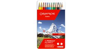 Caran D'Ache - Farbstifte Prismalo 12 Stück