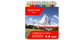 Caran D'Ache - Farbstifte Prismalo 18 Stück