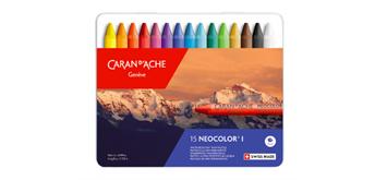 Caran D'Ache - Neocolor I , 15 Farben