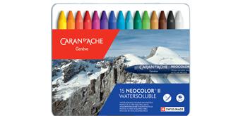 Caran D'Ache - Neocolor II , 15 Farben
