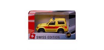 Cararama - Swiss-Ambulanz SUV