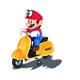 Carrera 1:20 RC Mario Scooter Odyssey