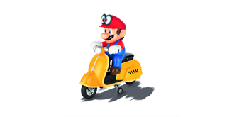 Carrera 1:20 RC Mario Scooter Odyssey