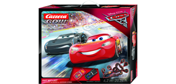 Carrera GO! Cars 3 Fast not Last 6.2 m