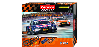 Carrera GO! DTM Speed Club / 8.9 m