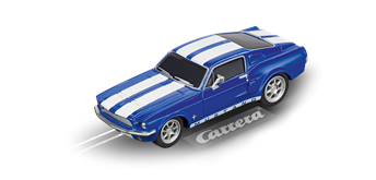 Carrera GO! Ford Mustang '67 Racing Blue