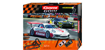 Carrera GO! Pedal to the Metal / 6.2 m