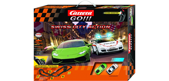 Carrera GO! Swiss City Action / 8.4 m