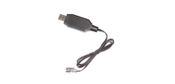 Carrera R/C USB Ladekabel 6.4V LiFePO4
