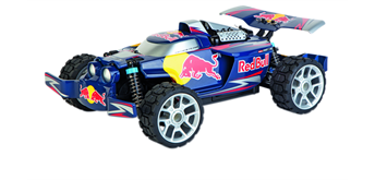 Carrera Red Bull Buggy NX2, 2.4 GHz, Digital Proportional R/C Profi