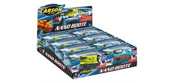 Carson Nano Boot 4-fach sortiert