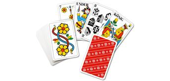 carta.media Jasskarten mit grossen Zahlen - Edelweiss