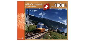carta.media Puzzle Golden Pass Panoramic