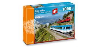 Carta Media Puzzle Rigi Bahn 1000 tl.