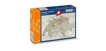 carta.media Schweizer Landkarte