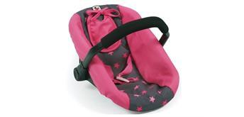 Chic 2000 Autositz für Puppen Sternchen pink