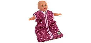 Chic 2000 Puppen-Schlafsack Brombeere