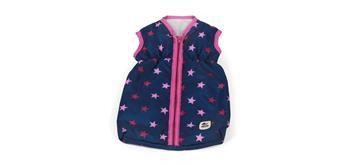 Chic 2000 Puppen-Schlafsack mit Sternchen pink