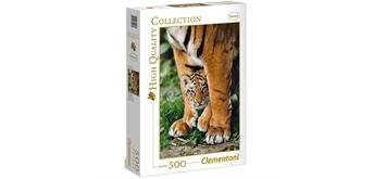 Clementoni Puzzle - Baby Tiger 500 Teile