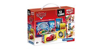 Clementoni Würfel Puzzle Multiplay Cars