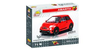 Cobi 24502 Fiat Abarth 500 (2018), 73 Steine
