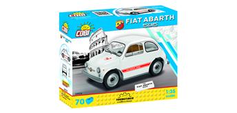 Cobi 24524 - Fiat Abarth 595, 70 Steine