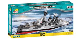 Cobi 4821 - HMS Belfast Light Cruiser