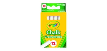 Crayola 12 weisse Kreide
