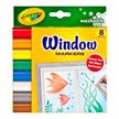Crayola 8 Fensterstifte - 3+ | Bild 2
