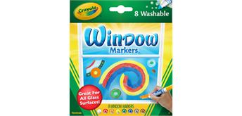 Crayola 8 Fensterstifte - 3+