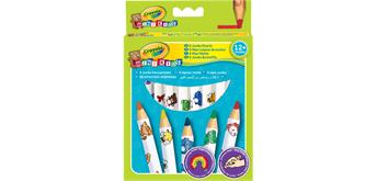 Crayola 8 Jumbo Buntstifte