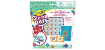 Crayola Glitter Dots Stickers